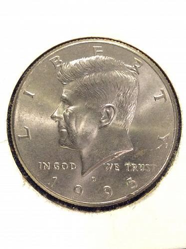 1995 D Kennedy Half Dollar
