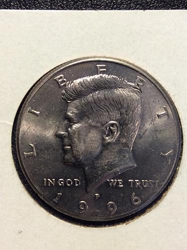 1996 P Kennedy Half Dollar