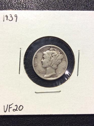 1939 P Mercury Dime