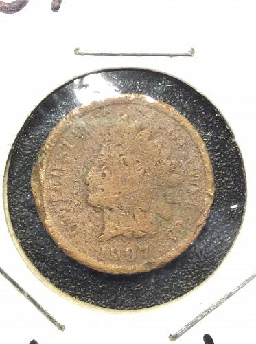 1907 P Indian Head