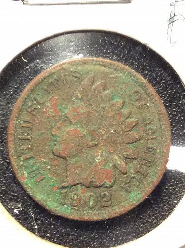 "1902 P ""GREEN"" Indian"