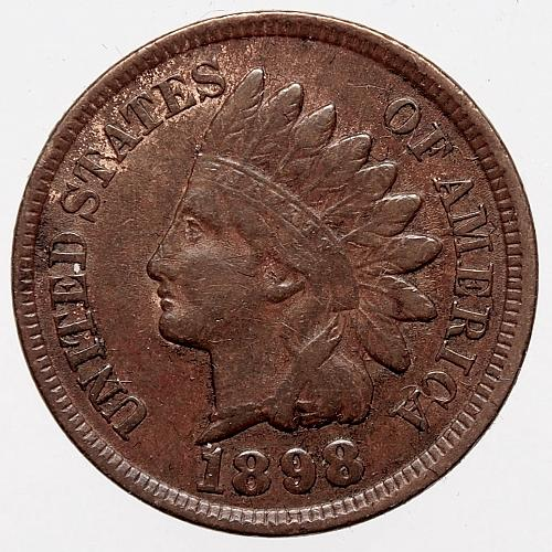1898 P Indian Head Cent #23