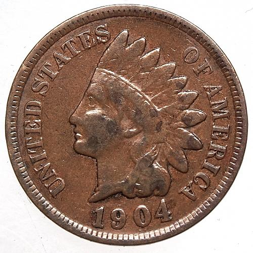 1904 Indian Head Cent #24