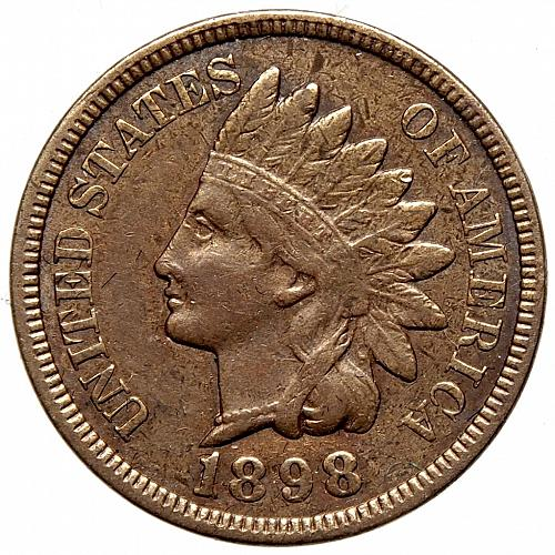1898 P Indian Head Cent #22