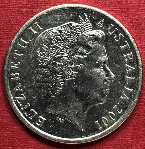 Australia 2001 = 10 Cents
