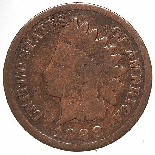 1888 P Indian Head Cent #30