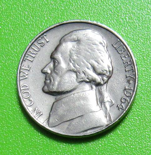 1964 5 Cents - Jeffereson Nickel