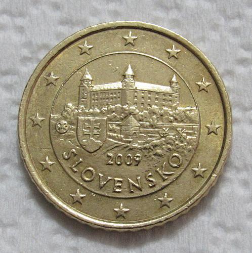 2009 Slovakia 50 Euro Cents