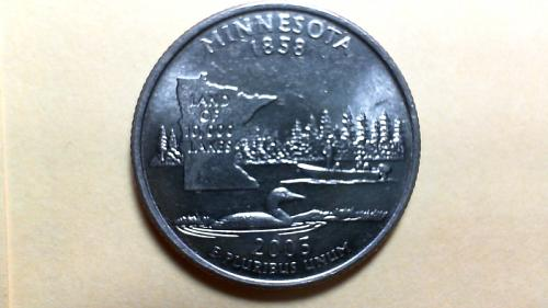 2005 D Minnesota 50 States and Territories