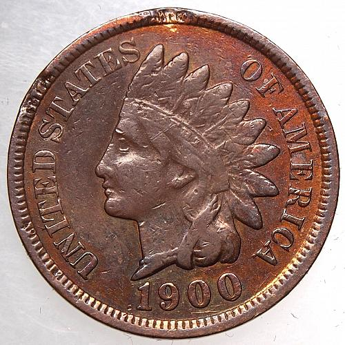 1900 P Indian Head Cent #26