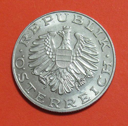 1989 Austria 10 Schilling