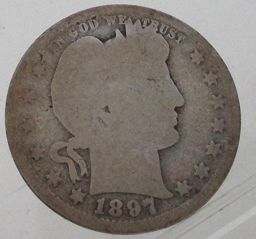 1897 P Barber Quarter