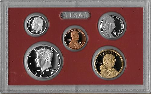 2010 S - SILVER PROOF SET - 14 PIECE (2 SETS AVAILABLE)