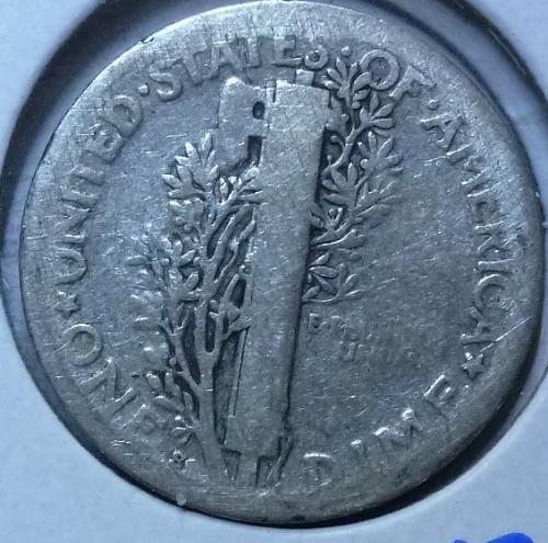 1920-S Very Good Mercury Dime VG ( 559)