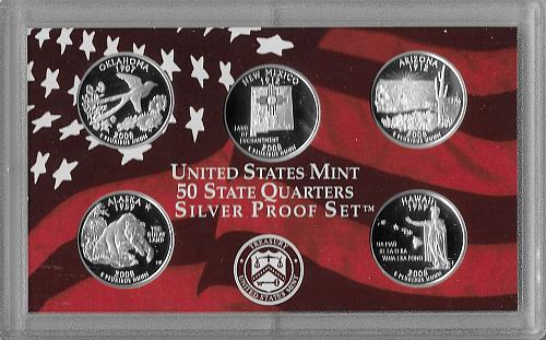 2008 S - SILVER PROOF SET - 14 PIECE (2 SETS AVAILABLE)