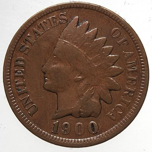 1900 P Indian Head Cent #27