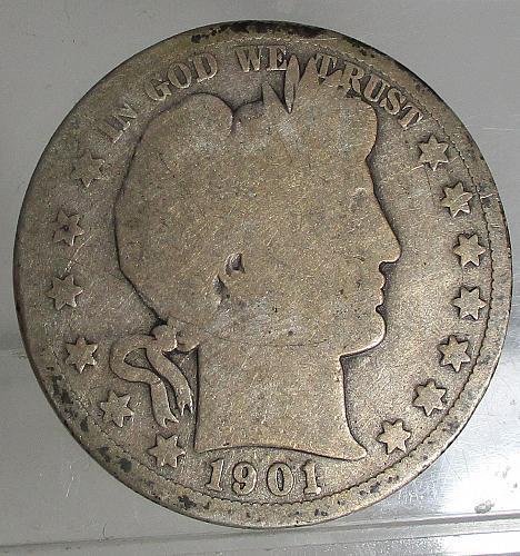 1901 O Barber Half Dollar   N E W    P R I C E     1/6/2020