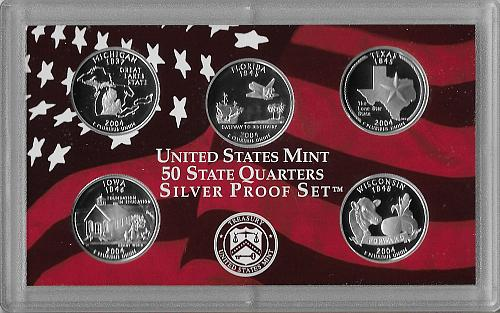 2004 S - SILVER PROOF SET - 11 PIECE (2 SETS AVAILABLE)