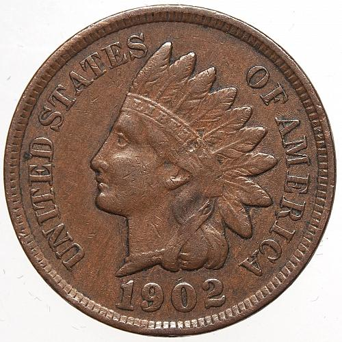 1902 P Indian Head Cent #30