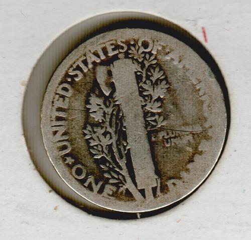 1920 P Mercury Dimes - #4