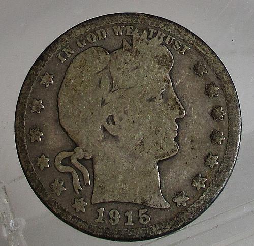 1915 D Barber Quarter     N E W   P R I C E   2/26/2020