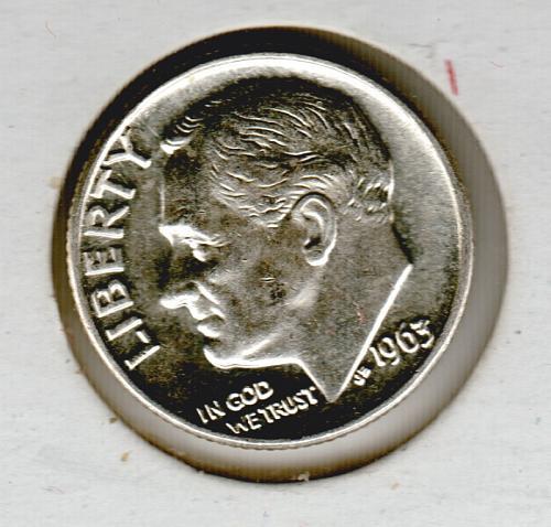 1963 D Roosevelt Dimes - #4