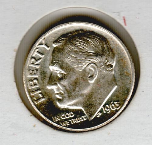 1963 D Roosevelt Dimes - #3