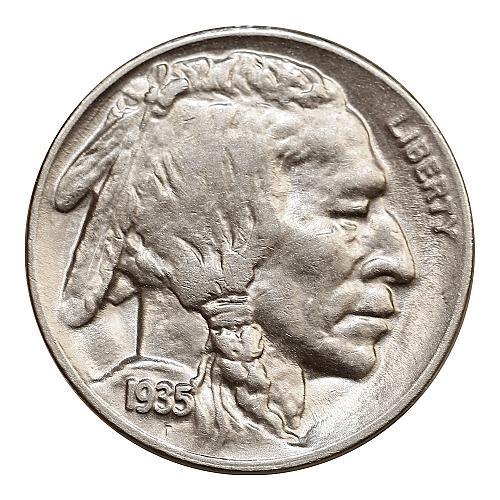 1935 D Buffalo Nickel - Gem BU / MS / UNC