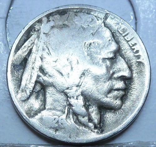1926-D Grades Good Buffalo Nickel Coin ( 227 )