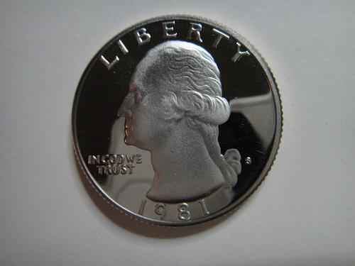 1981-S Type 1 Washington Quarter Proof-66 (GEM+)