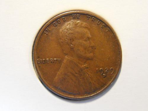 1929 D Lincoln Cent - EF or better (29DX8)