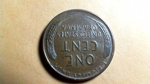 1957 D Lincoln Wheat Cents