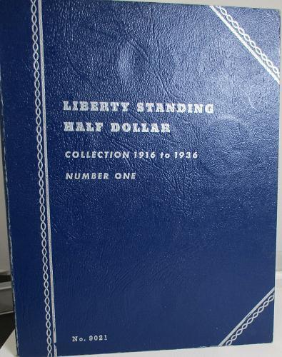 LIBERTY STANDING HALF DOLLAR FOLDER, 1916 - 1936