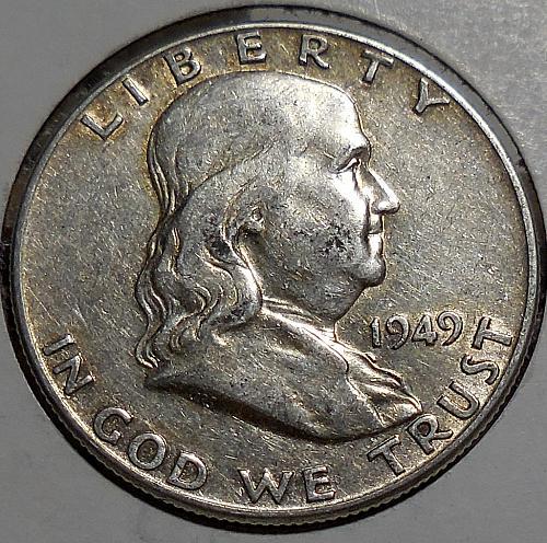 Franklin Half Dollar 1949-P