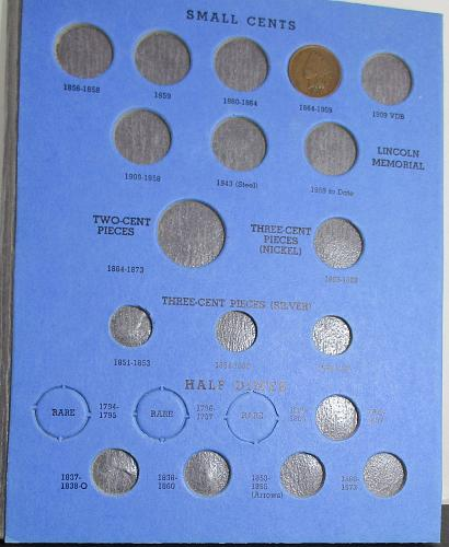 FOLDER FOR UNUSUAL SMALL US COINS, UNUSUAL COINS YOU SHOULD COLLECT