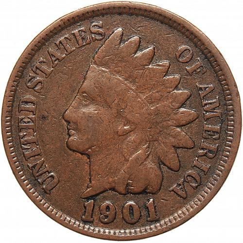1901 Indian Head Cent #41