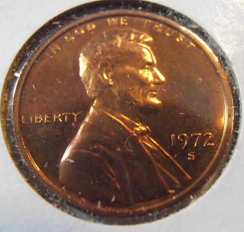 1972 S Lincoln Cent - Proof (72SPF1)