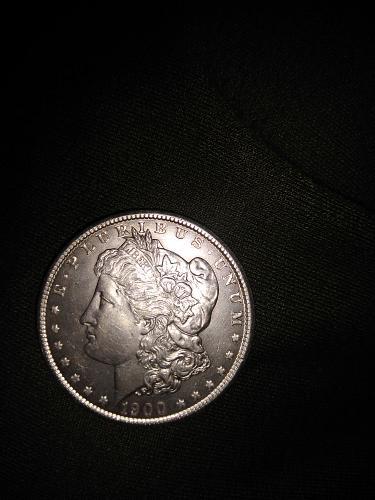 Perfect condition no mint Morgan dollar