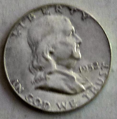 1952 P Franklin Half Dollar: Liberty Bell