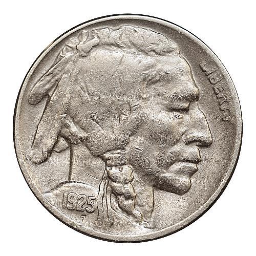 1925 D Buffalo Nickel - AU / Almost Uncirculated