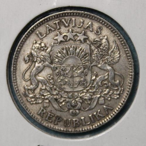Latvia 1924 1 Lats