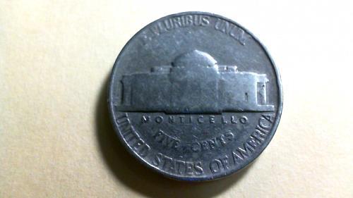 1939 P Jefferson Nickels