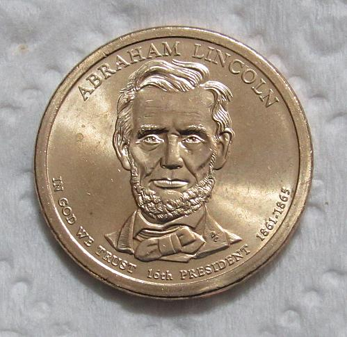 2010-P $1 Abraham Lincoln Presidential Dollar