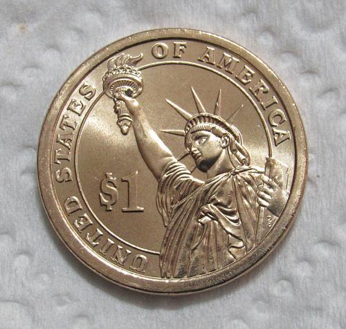 2010-P $1 Abraham Lincoln Presidential Dollar