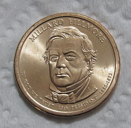 2010-D $1 Millard Fillmore Presidential Dollar