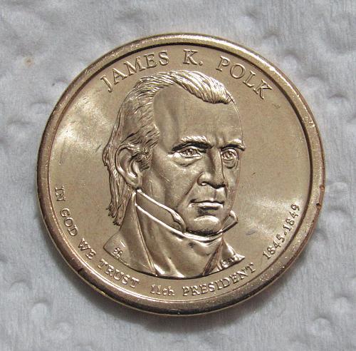 2009-P $1 James Polk Presidential Dollar