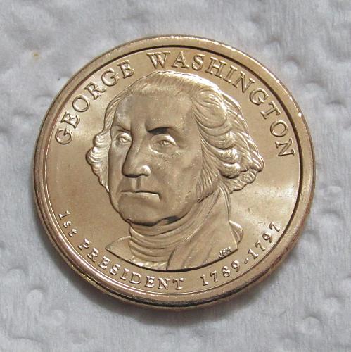 2007-D $1 George Washington Presidential Dollar