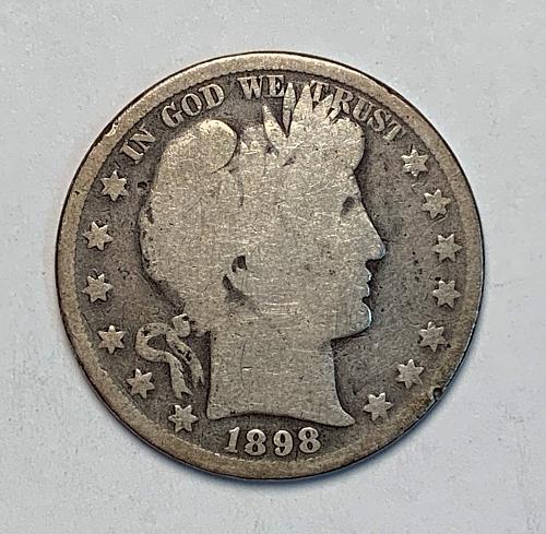 1898 Barber Half Dollar [BH 16]