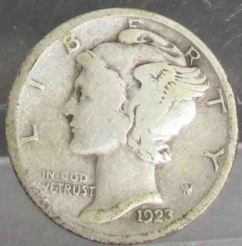 1923 P Mercury Dime  #3