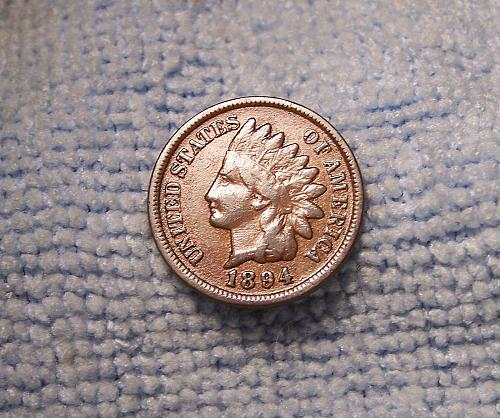 1994  INDIAN HEAD CENT  f